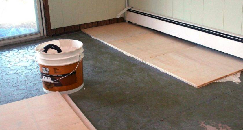 Install Plywood Floor Tiles Hgtv