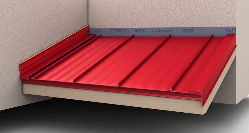 Install Standing Seam Metal Roofing Endwall