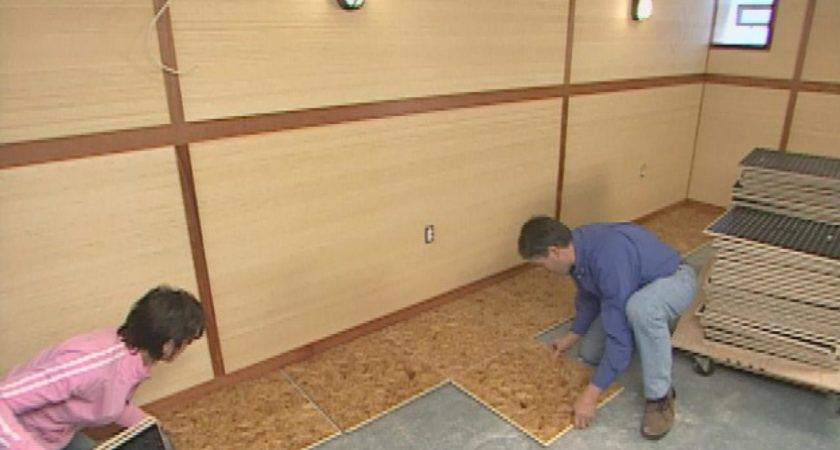 Install Subfloor Panels Tos Diy
