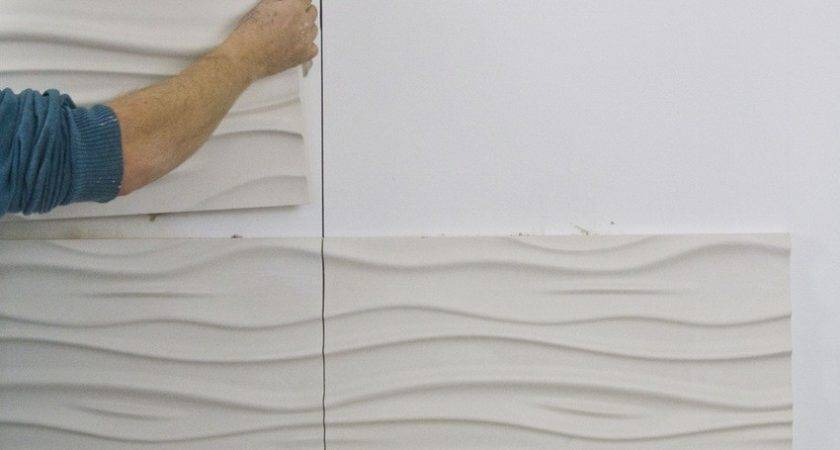 Install Textured Wall Panels All Arafen