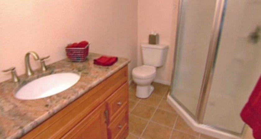 Install Tile Bathroom Floor Hgtv
