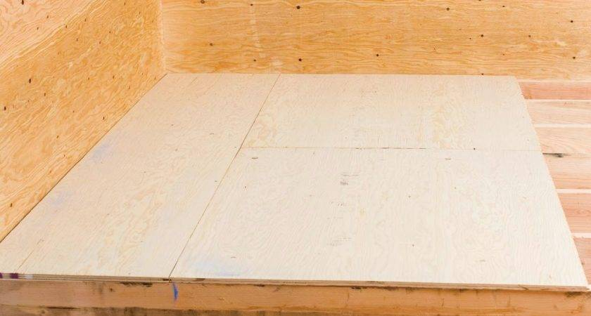 Install Tile Plywood Subfloor Bathroom