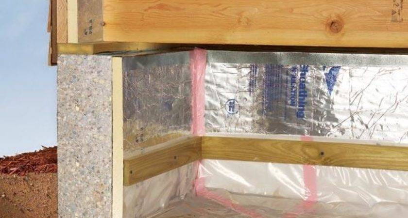 Install Vapor Barrier Crawlspace