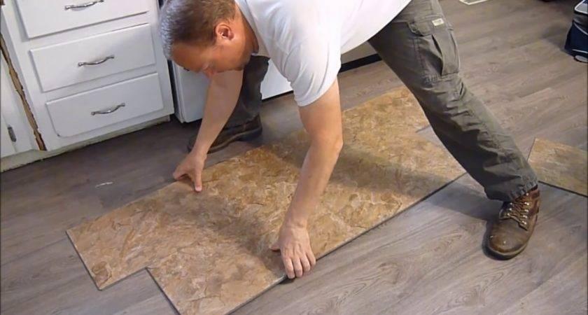 Install Vinyl Plank Flooring Snap Together Youtube
