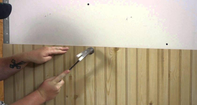 Install Wall Paneling Walls Youtube