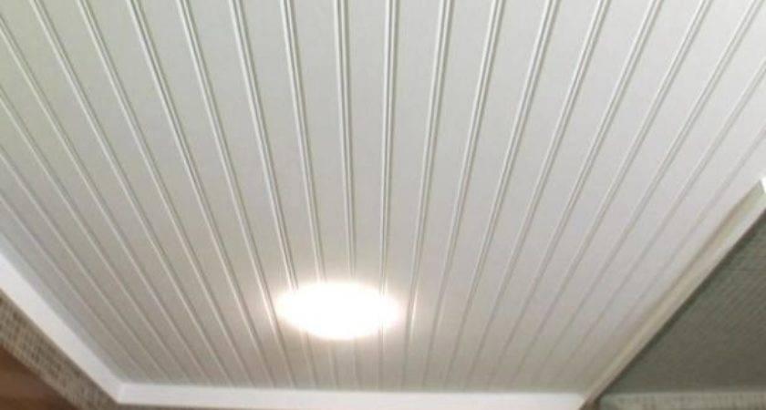 Installing Beadboard Ceiling Video Diy