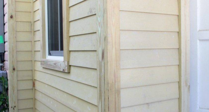 Installing Exterior Wood Trim Around Windows Doors