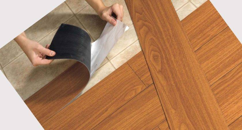 Installing Faux Wood Vinyl Flooring Looks Like