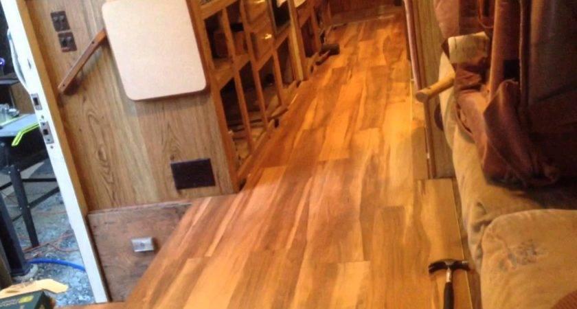 Installing Laminate Flooring Motorhome Floor Matttroy