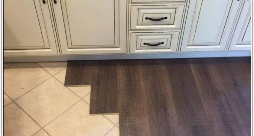 Installing Laminate Wood Flooring Over Tile