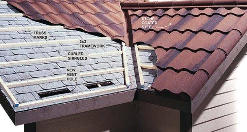 Installing Metal Roofing Over Shingles Handyman