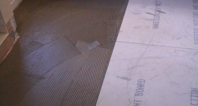 Installing Tile Over Linoleum Floor Thefloors