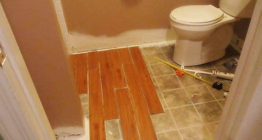 Installing Vinyl Wood Plank Flooring Small Spaces