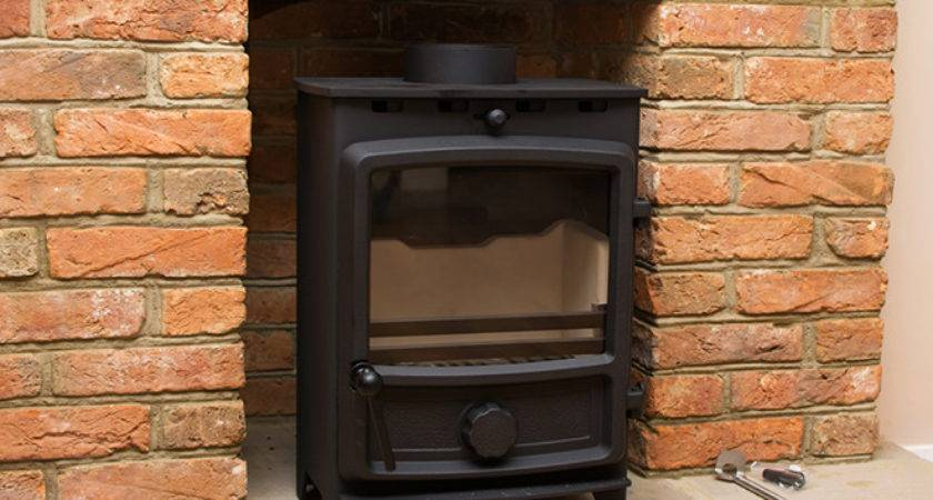 Installing Wood Burning Stove