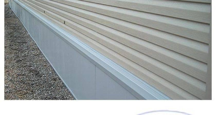 Insulated Mobile Home Skirting Rapid Wall Kit