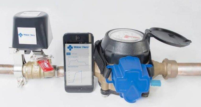 Intelligent Water Leak Detection System Turns Off