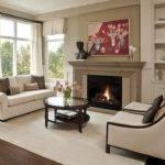 Interior Design Ideas Living Rooms Fireplace
