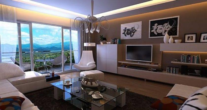 Interior Design Modern Bachelor Pad Decorating Ideas