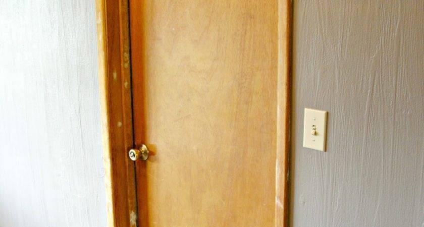 Interior Door Makeover Peel Stick
