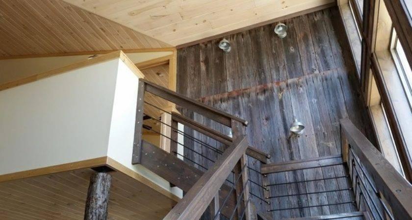 Interior Log Paneling Siding