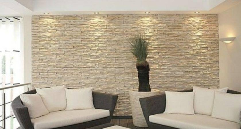 Interior Stone Facade Accent Wall