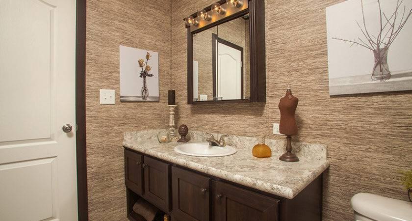 Interior Top Mobile Home Bathroom Vanity