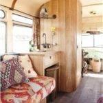 Interior Vintage Bus Conversion Rugged Liferugged Life