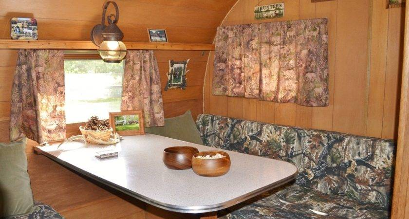Interior Vintage Camper Photos Joy Caking