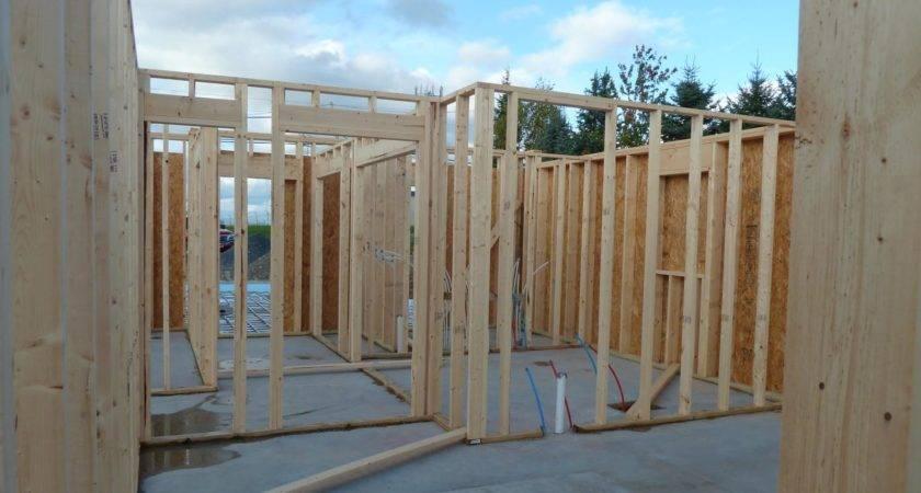 Interior Wall Framing Garage Radiant Heat Tubing Quadomated