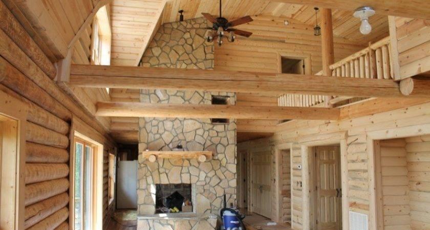 Interiors Wood House Log Homes Llc