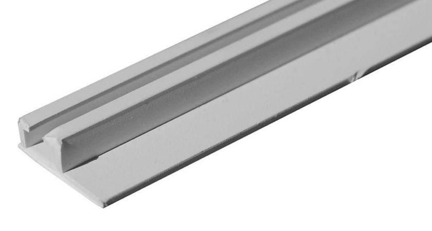 Internal Ceiling Slide Track White Designer