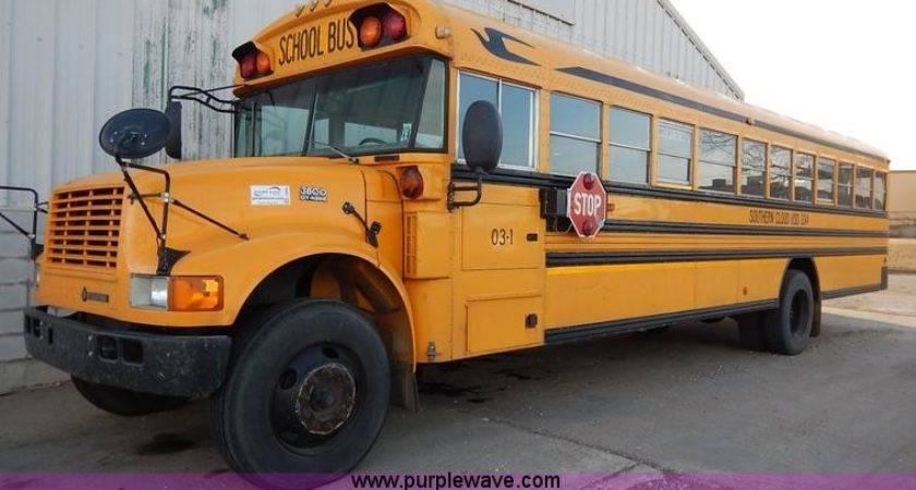 International Blue Bird School Bus Item