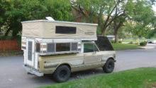 International Scout Four Wheel Camper