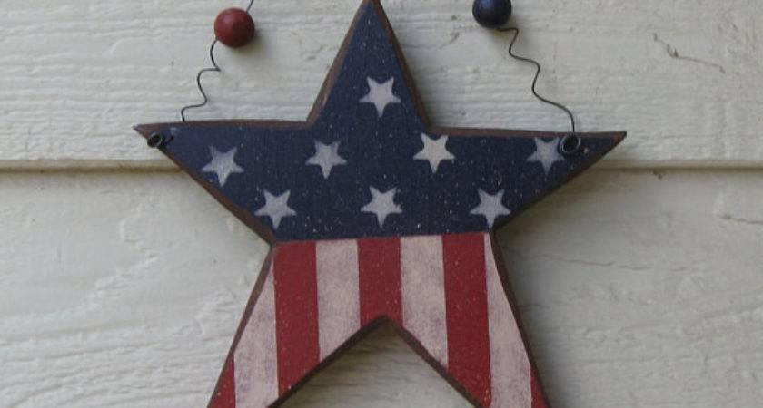 Items Similar Americana Decor Stars Stripes Star