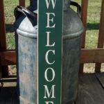 Items Similar Primitive Wood Welcome Sign Stars