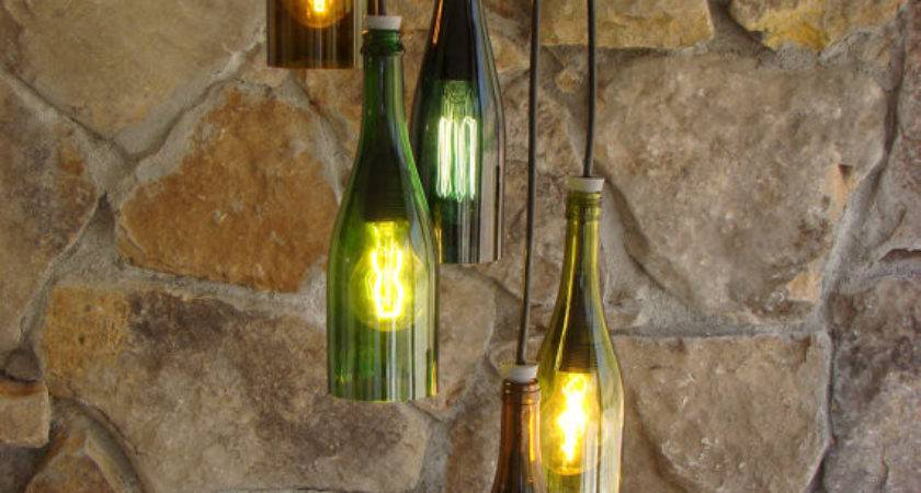 Items Similar Wine Bottle Light Etsy