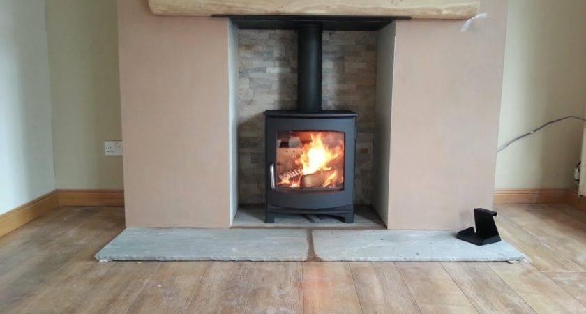 Ivar Stove Installation Fireplace Wood Burning