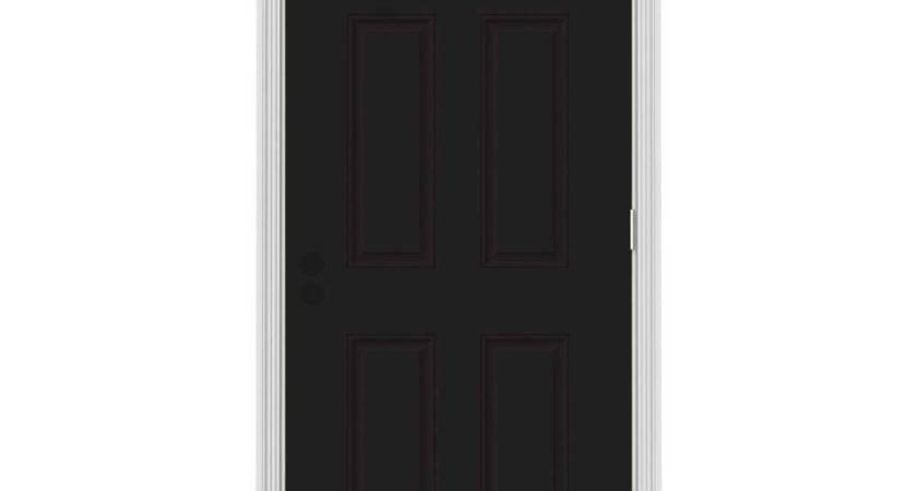 Jeld Wen Panel Black Painted White