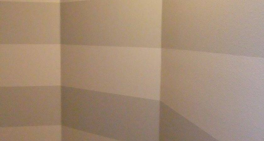 Just Another Hang Painting Stripes Textured Walls