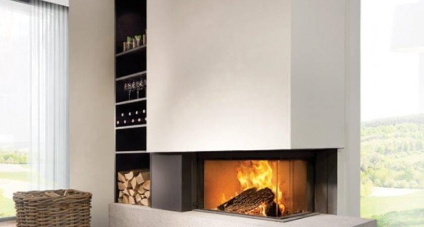 Kal Fire Heat Pure Corner Wood Burning Stove Big