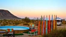 Kate Lazy Desert Airstream Hotel California
