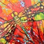 Kellie Chasse Fine Art Alcohol Ink Paintings Ceramic Tiles