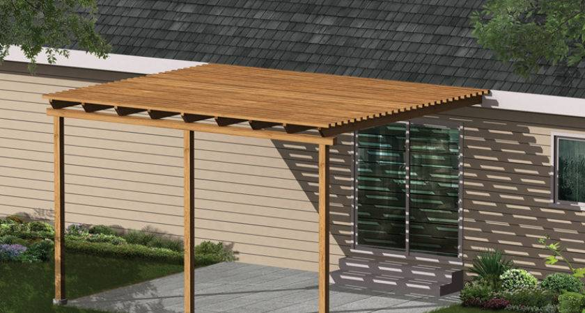 Kelsey Patio Cover Plan House Plans More