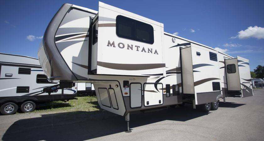 Keystone Montana Fifth Wheel Camper New