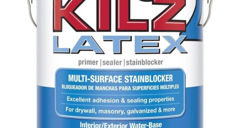 Kilz Gal White Water Based Latex Interior Exterior