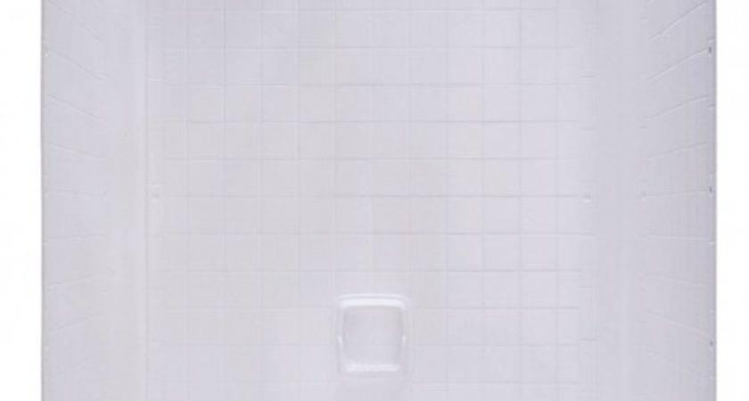 Kinro Mobile Home Piece White Tile Wall Surround