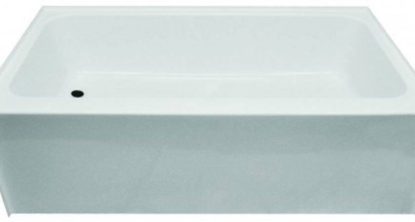 Kinro Mobile Home Tub Left Drain White
