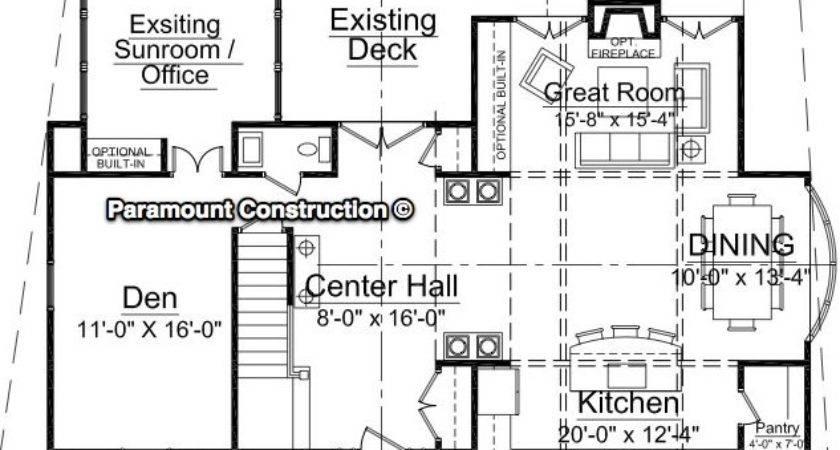 Kitchen Addition Floor Plans Find Best