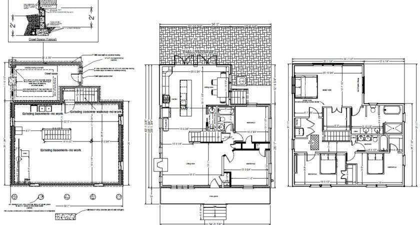 Kitchen Addition Floor Plans Garage Whitby Drive