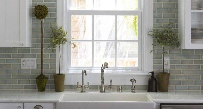 Kitchen Backsplash Ideas Green Subway